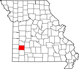 Dade county missouri